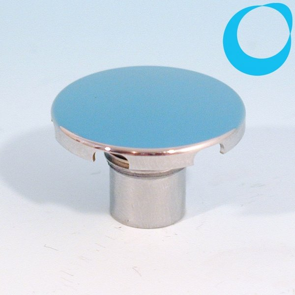 jacuzzi replacement cap air spa jet 28 mm chrome 1/4 \