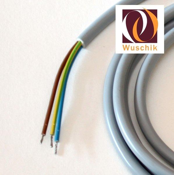 stecker f r magnevtventile mit kabel 2 m 3 adrig dichtung. Black Bedroom Furniture Sets. Home Design Ideas