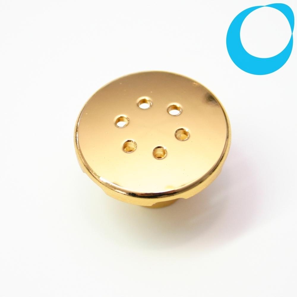 Air jet cap gold golden 1/4\