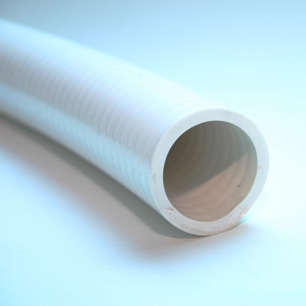 Pipe 40 Mm For Whirlpool Tub Flexible Hose Pvc White