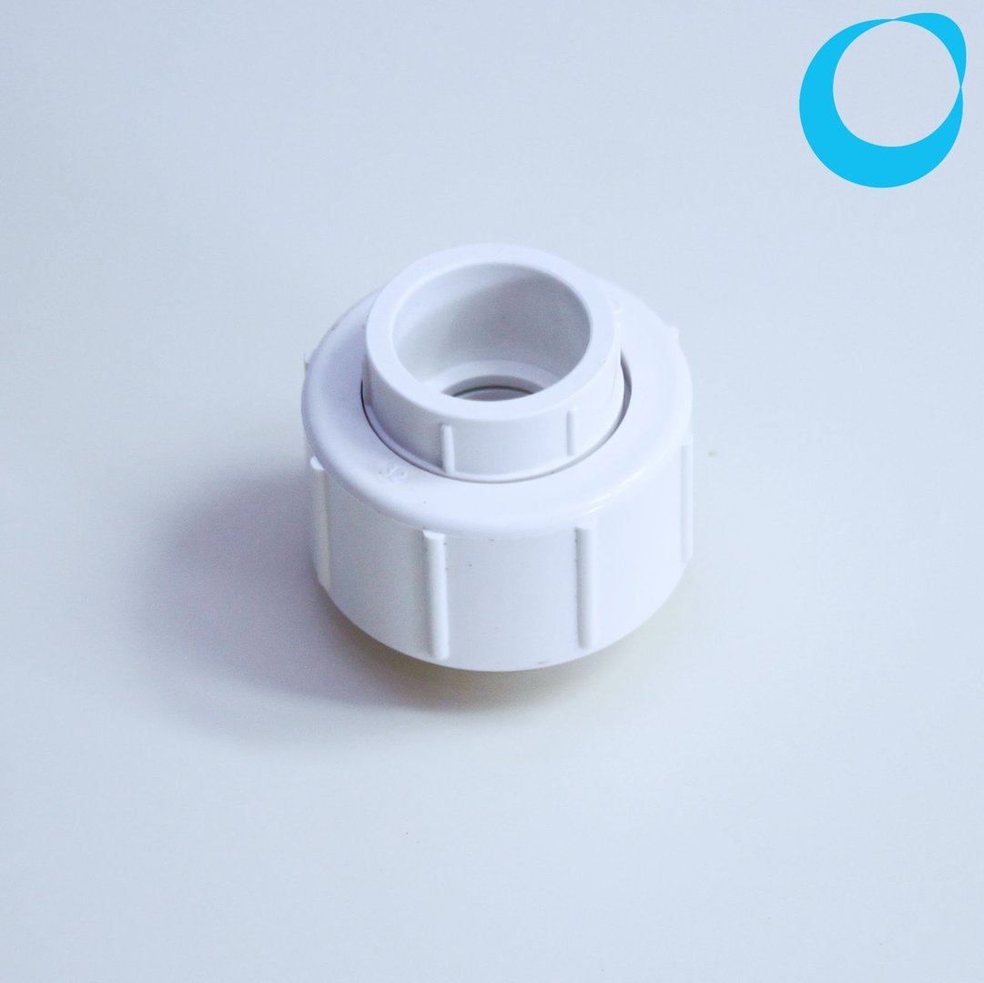 Pvc Gland 32mm Union White With Seal Sleeve