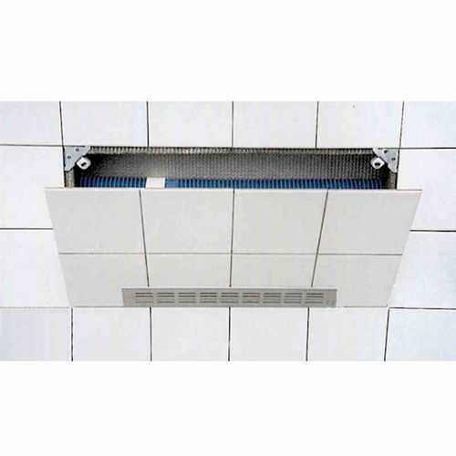 Technical Service Door with air inlet tiles whirlpool trap