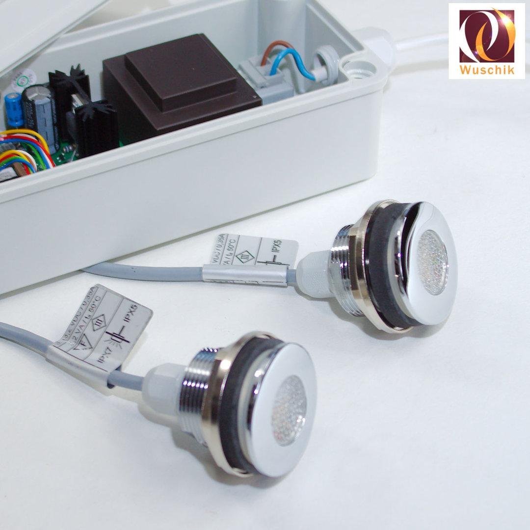 Multiclolor RGB LED light bath tub shower pool spa topside keypad