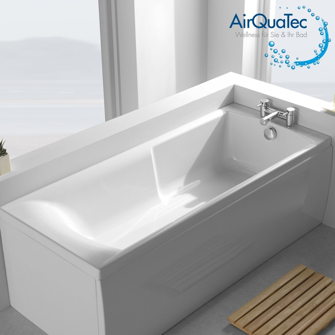 Low Edge Ridge Profile Bathtub 160 X 70 Cm Square Easy
