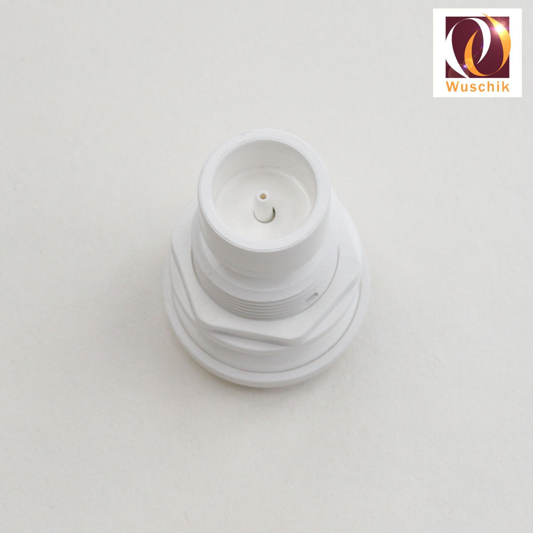 Air Switch Push Button White 44mm Bellows Actuators