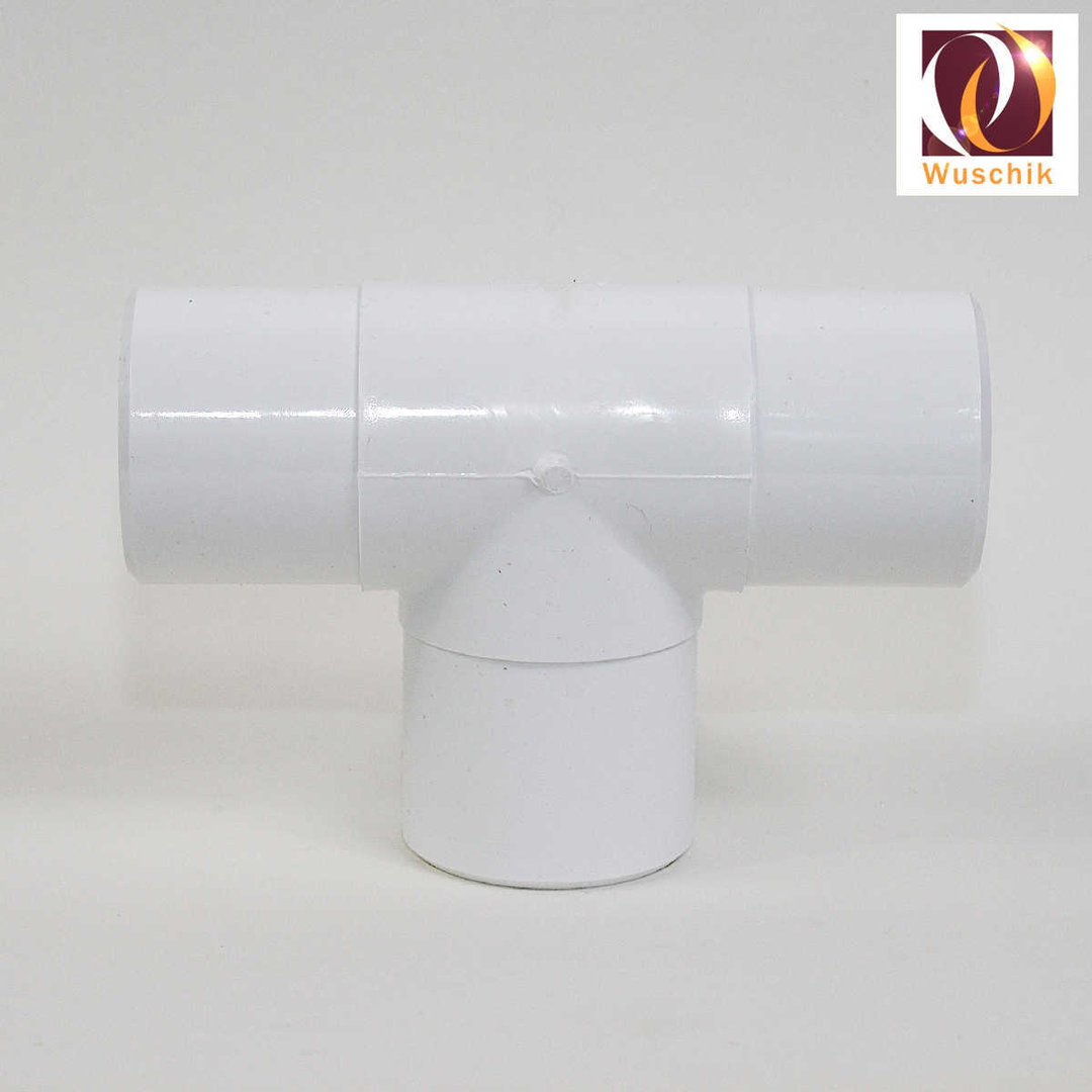 Pvc Tee 2 Inch 60 Mm Outside Splitter Divider Fitting