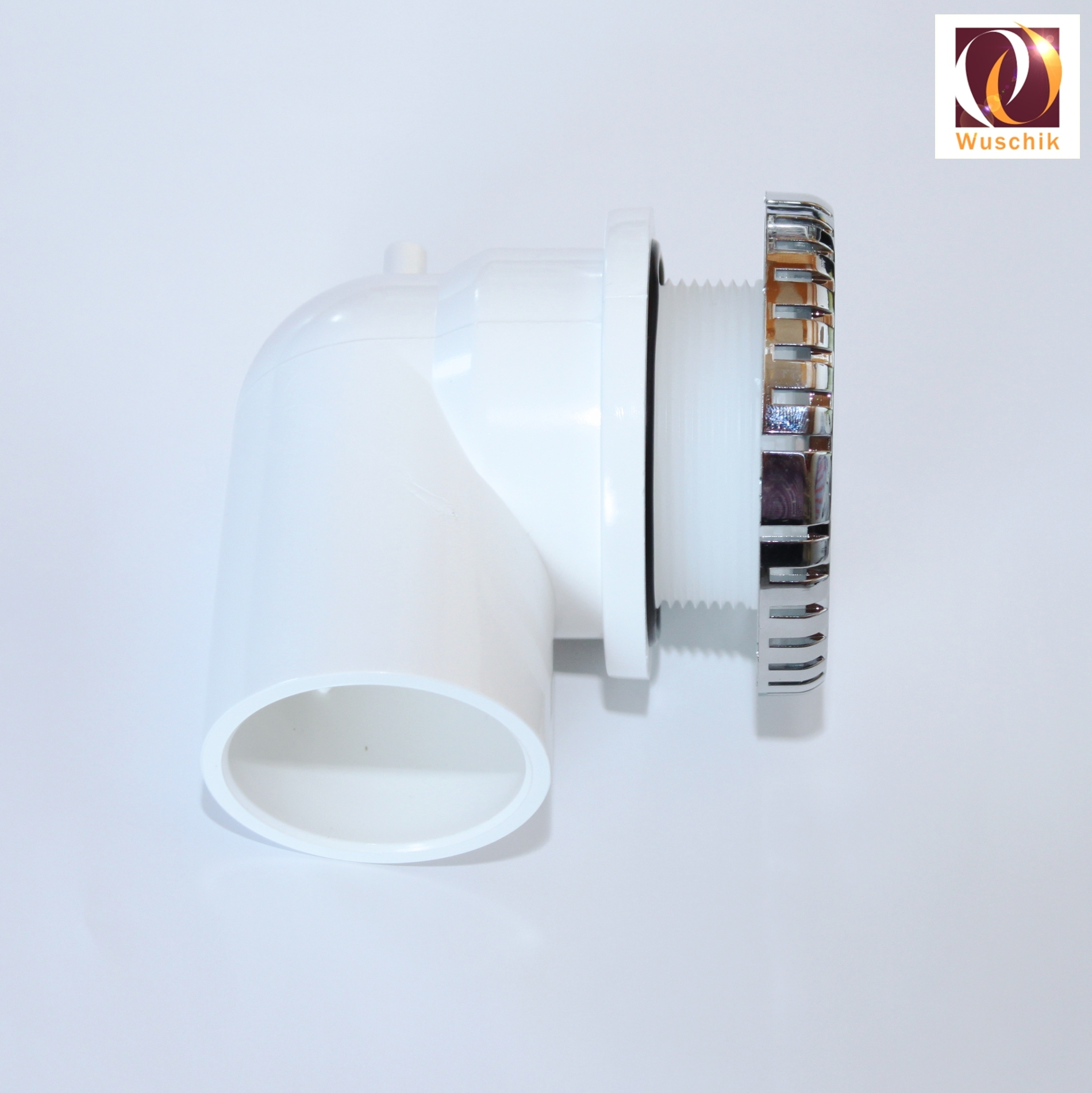 89mm Suction Whirlpool Water Inlet 50mm Elbow Chrome Spare