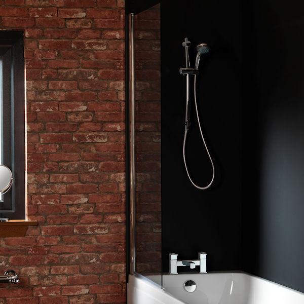 flache badewanne 170x70cm niedriger einstieg einfaches. Black Bedroom Furniture Sets. Home Design Ideas