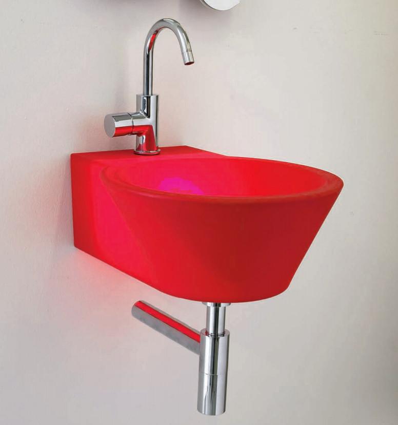 Design Aufsatzbecken Waschbecken Waschtisch Fuer Bad U Gaeste Toilette ...