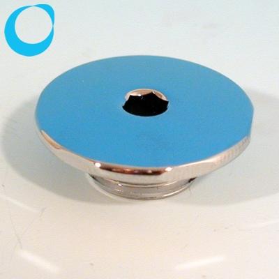 Pool d senblende 28 mm d28 eckig chromkappe nur hier for Pool stahlwand eckig