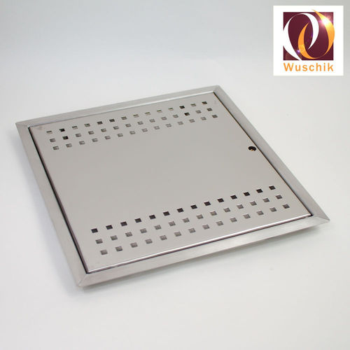 Service door metal 300 x 300 mm, stainless
