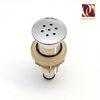 Jacuzzi Spa Jet 18 mm, chrome 7 holes brass checkvalve