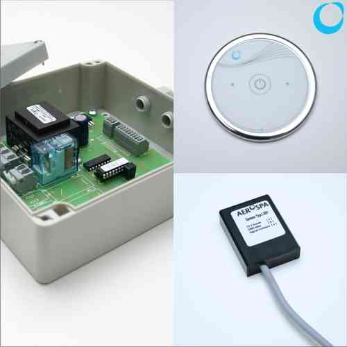 Whirlpool electronic control On OFF Blower + key pad