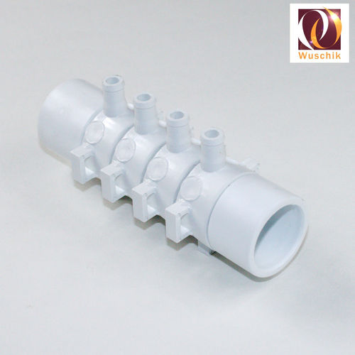 Whirlpool Manifold 10 mm 4 exit for water and air jet