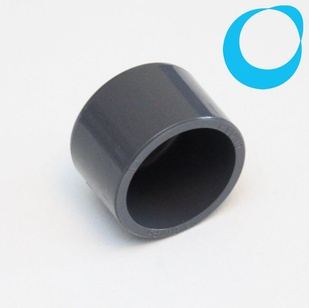 Mm cap pvc grey end fitting pipe hose plumbing