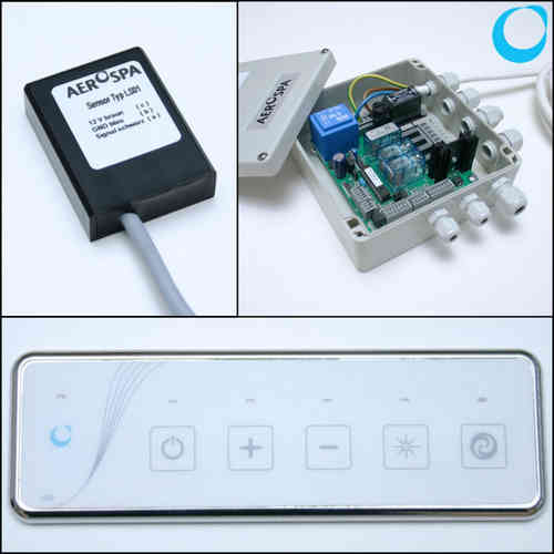 Replacement electronic kit for whirlpool systems
