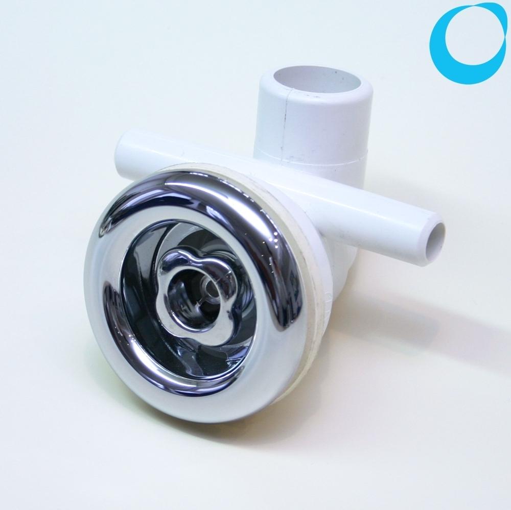 Jacuzzi jet hydrojet 70mm, spa jeet chrome, plumbing adjustable