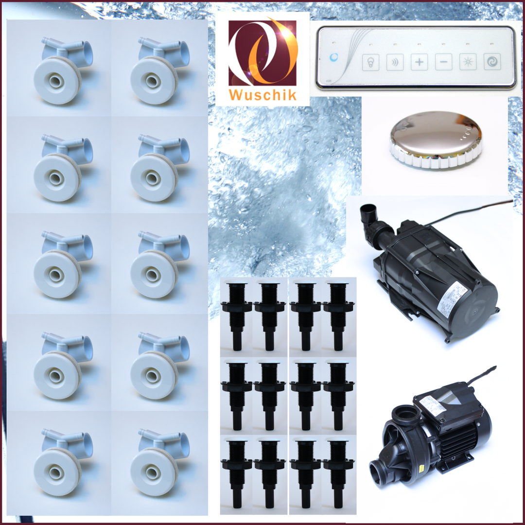 Whirlpool Jacuzzi Kit Diy Hydro System Combined White