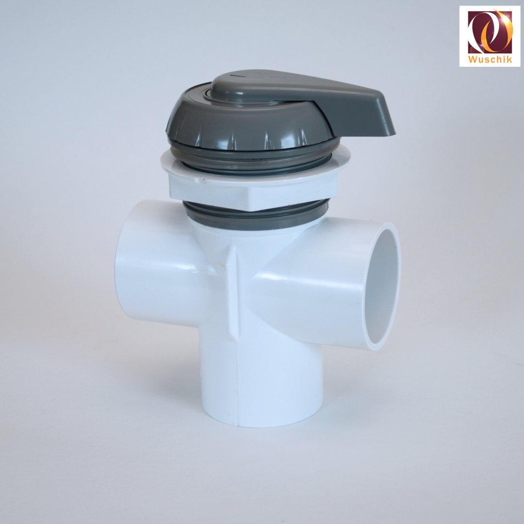 2 Quot Water Diverter Valve 2 Way Jacuzzi Whirlpool Regulator