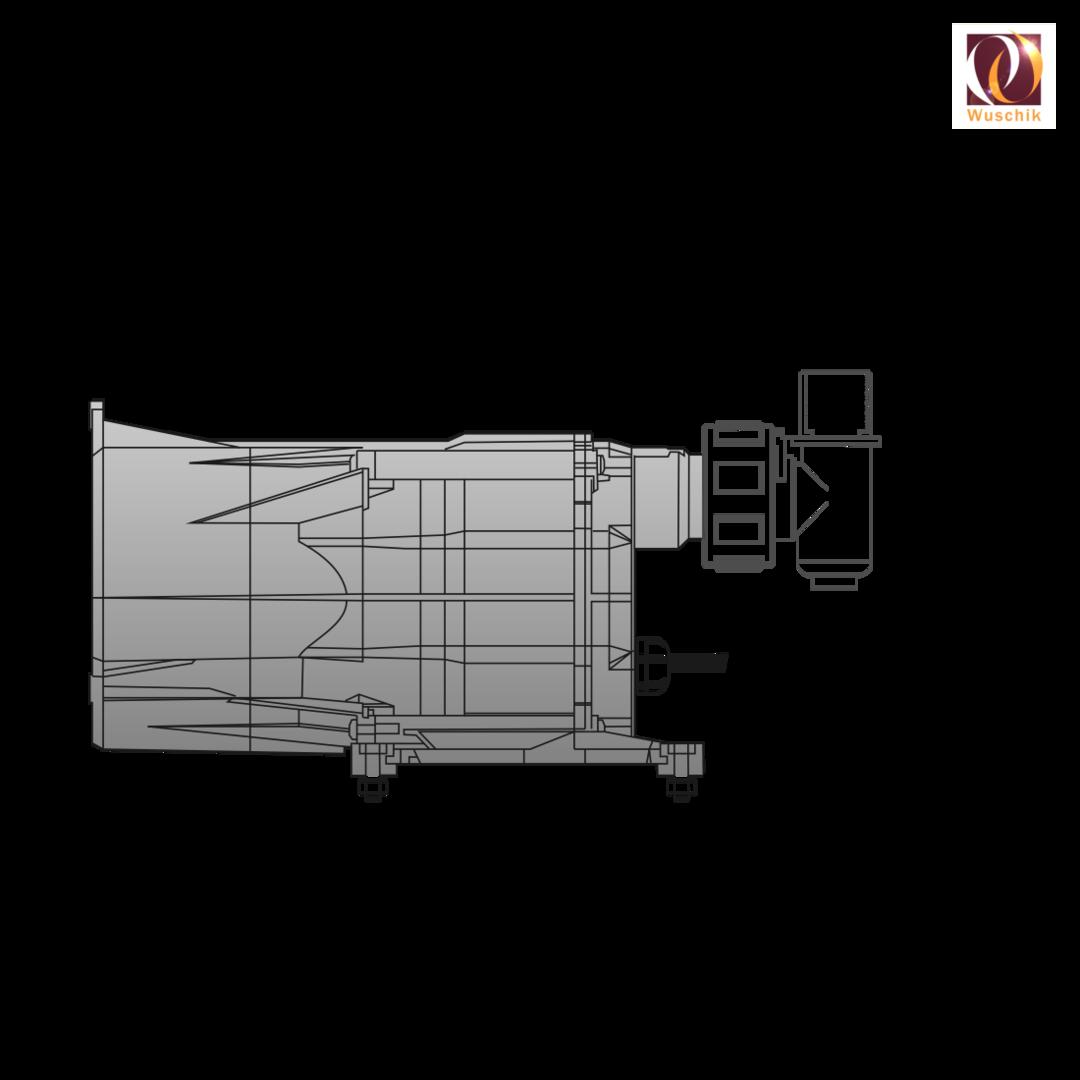 Whirlpool Luftgebläse mit Heizung und Ozonator Sirem ASD günstig!