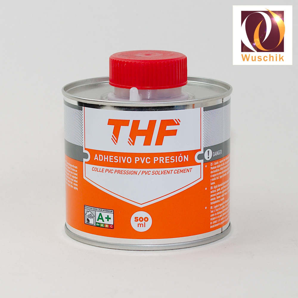 Bevorzugt 500 g PVC Kleber Dose PVC-U Spezialkleber mit Pinsel Verklebung FI47