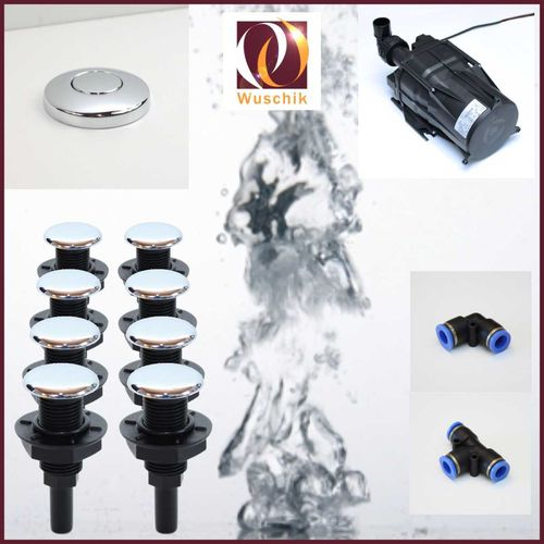 8 injector jacuzzi Air Spa whirlpool DIY Kit
