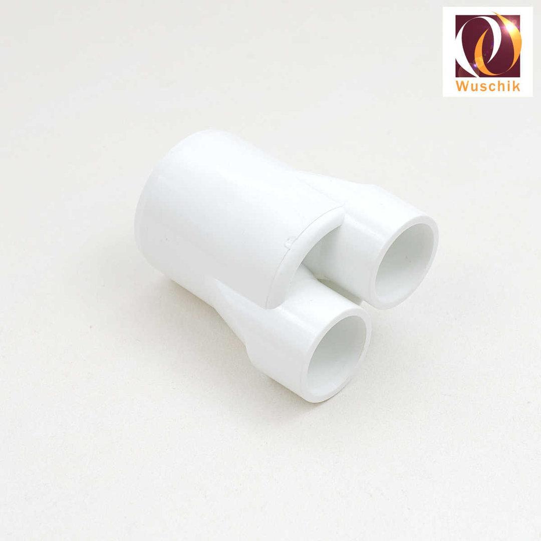 pipe distributor splitter 32 mm 2 x 20 mm pvc fitting plumbing. Black Bedroom Furniture Sets. Home Design Ideas