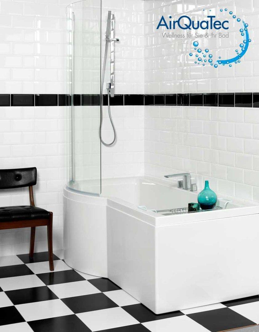 dusch badewanne space multi 150 x 90cm rechts raumsparwanne. Black Bedroom Furniture Sets. Home Design Ideas