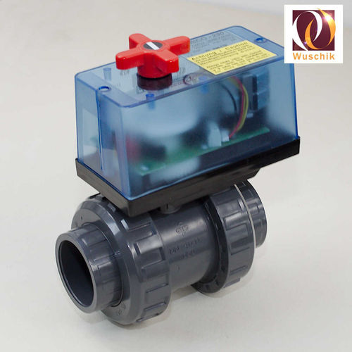 Electrical ball valve 50 mm deadbolt motorized 230V