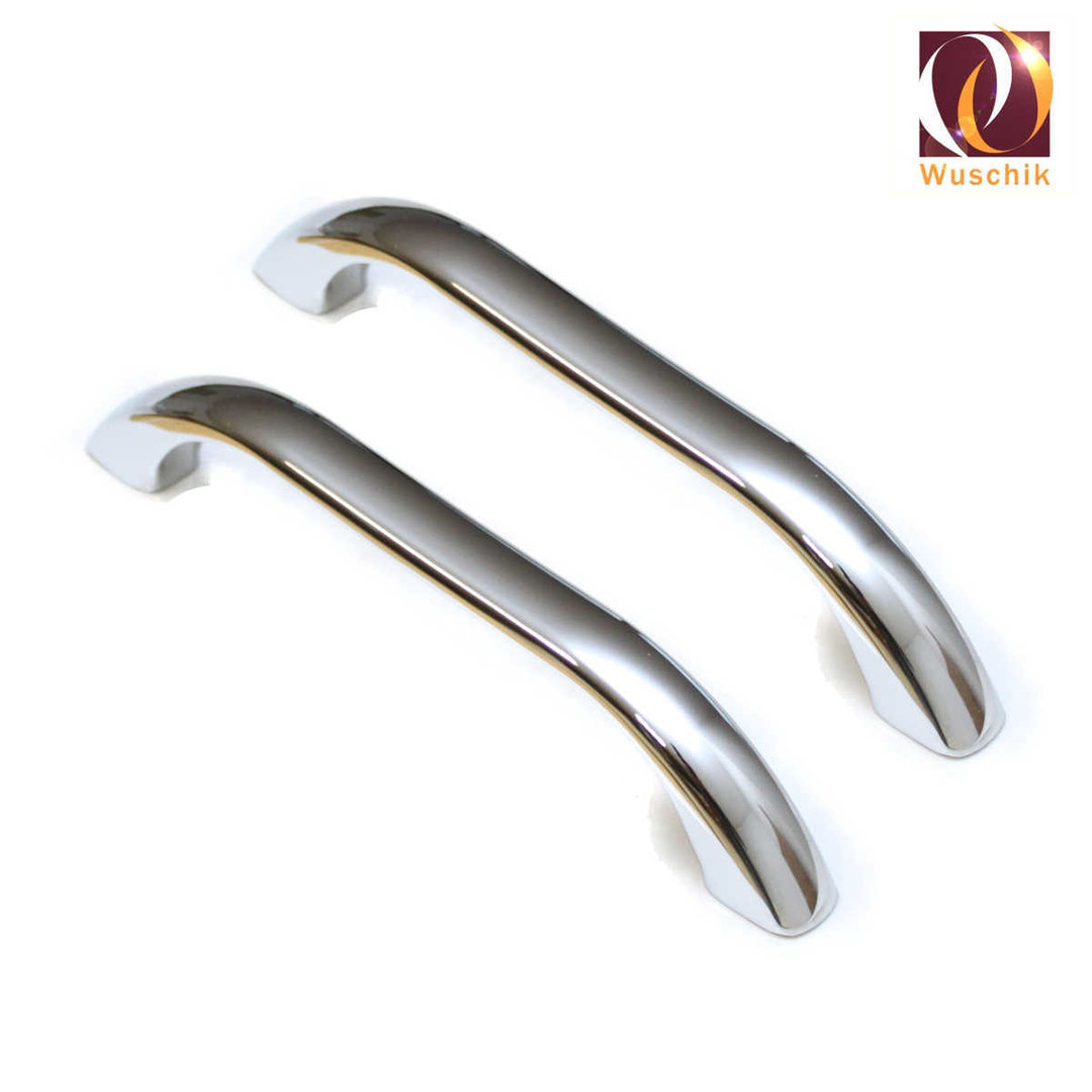 Bath tub handle chrome solid brass stable pair screwed