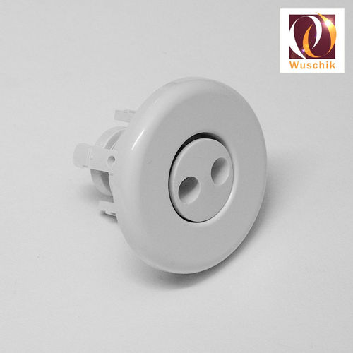 Nozzle cover 66mm pluggable rotation white