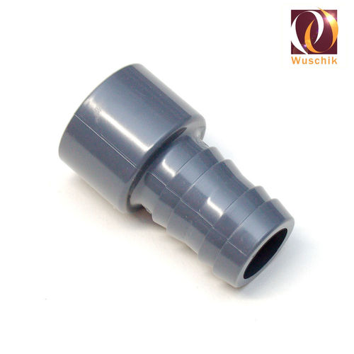 PVC 38 mm hose connector 50 mm adapter