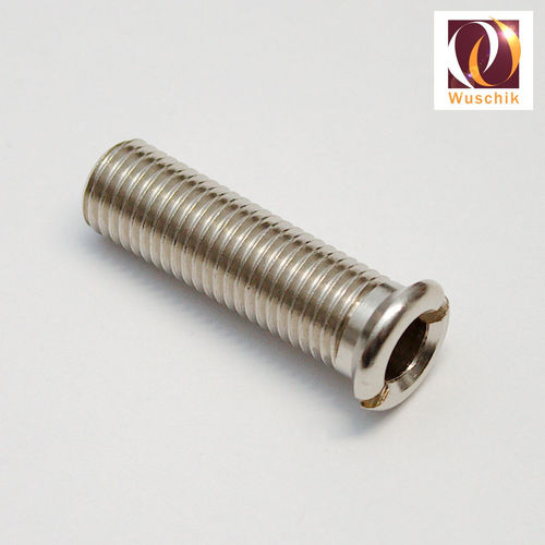 Screw drain screw connection drain fastening