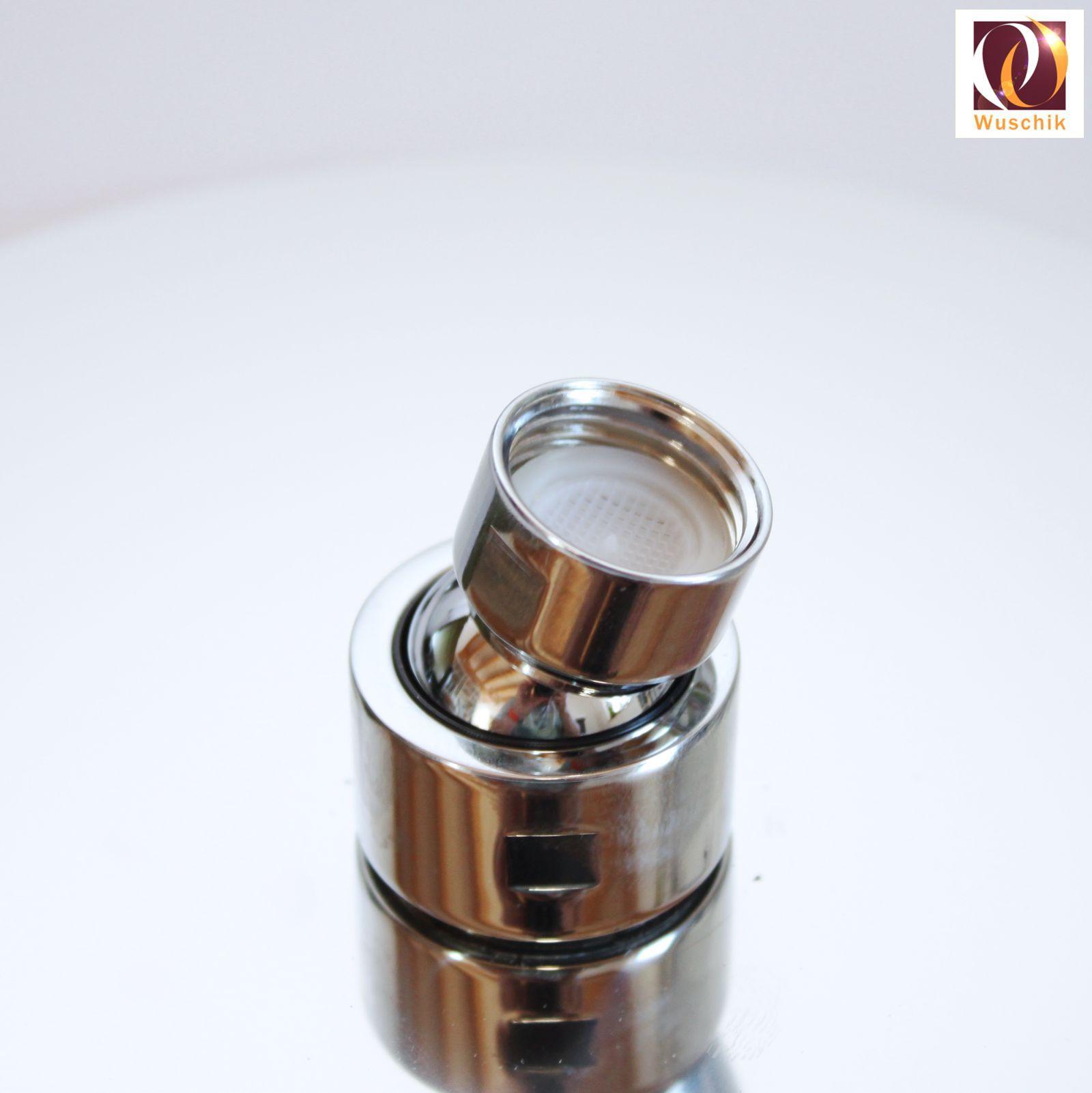 Beliebt Duschkopf Brausekopf flach 200 mm Chrom Edelstahl 1/2 Zoll 20 cm NS82