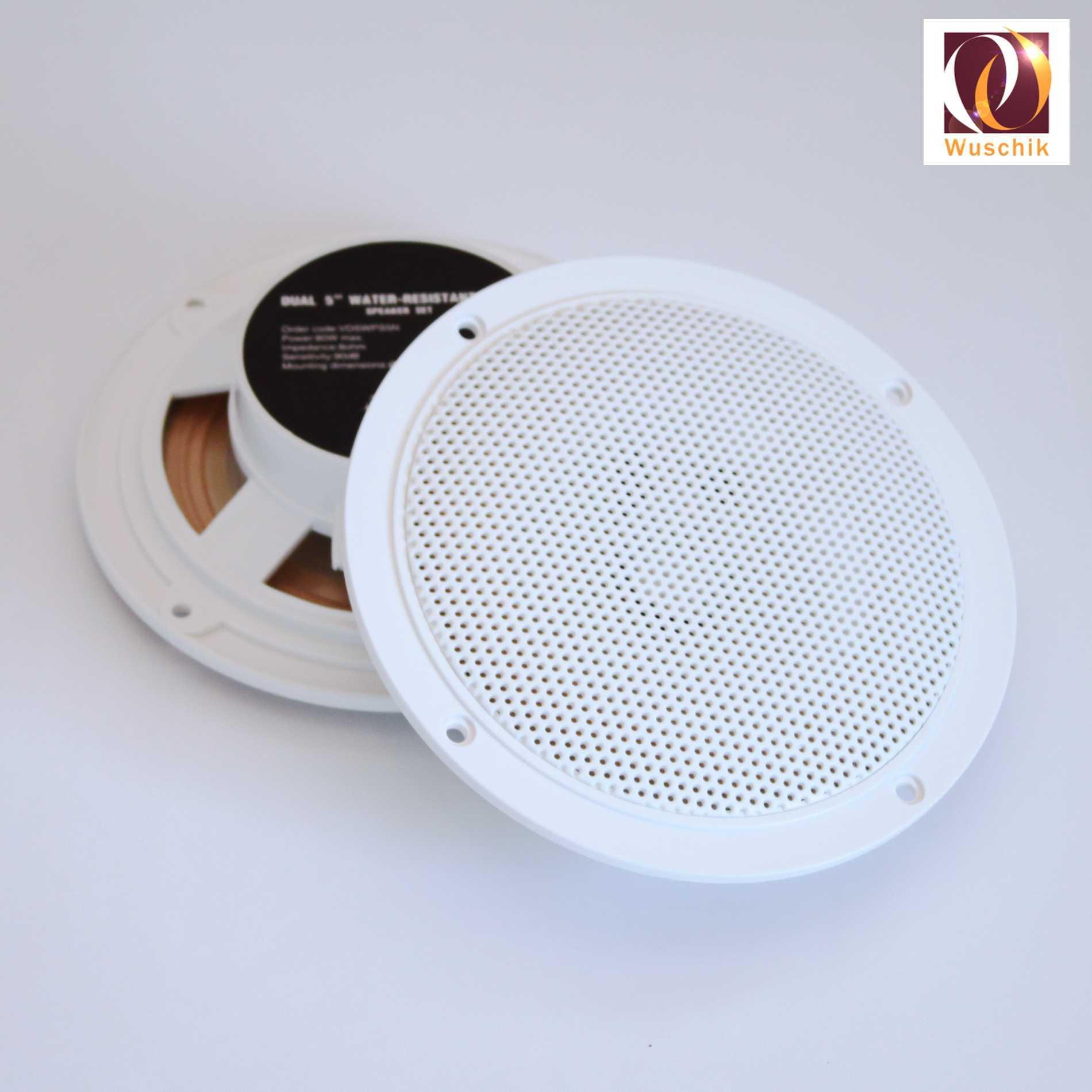 Set Stereo Lautsprecher Einbauboxen Water Resistant 5 Wellness