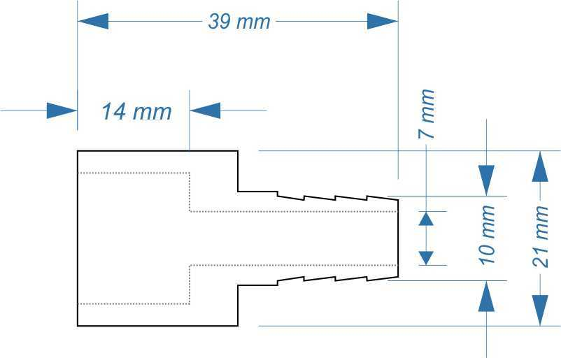 bergangsst ck 1 2 3 8 zoll schlauchanschluss reduzierst ck neu. Black Bedroom Furniture Sets. Home Design Ideas