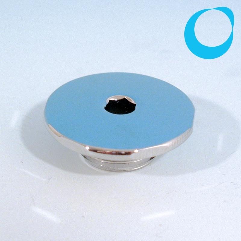 pool d senblende 28 mm d28 eckig chromkappe nur hier. Black Bedroom Furniture Sets. Home Design Ideas